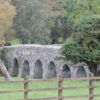 A stone bridge over the river boyne beside bective abbey