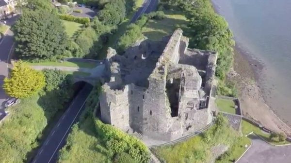 King Johns Castle at Carlingford