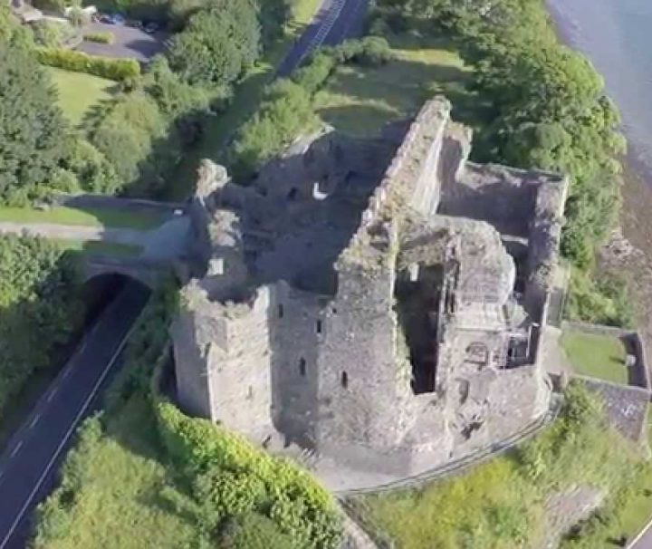 King Johns Castle at Carlingford